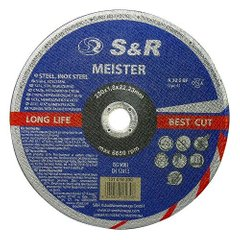 Circle abrasive cutting metal and stainless steel Meister A 30 S BF 230x1,8x22,2 131018230 S & R