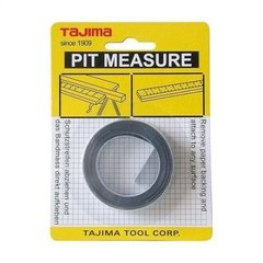 Self-adhesive steel tape measure, marking the right edge. PIT30R, 3 m / 16 mm PIT30R Tajima
