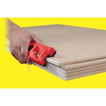 Puller chamfer plasterboard, MDF Drywall Beveling Tool 45 °, housing 180 mm, 18 mm blade TBK180H45 Tajima