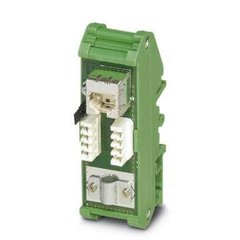 RJ45 patch panel for DIN-rail FL-PP-RJ45-LSA 2901645 Phoenix Contact